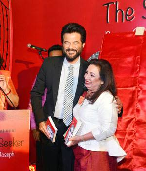 Punan Chadha-Joseph, wife of Wizcraft founder-director Sabbas Joseph, launched her first book, The Soulful Seeker, in the Capital on Thursday.