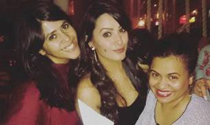 TV actress Anita Hassanandani turned a year older today. Her friends including Ekta Kapoor, Ankita Bhargava and Karan Patel attended her birthday bash. Here's a look.