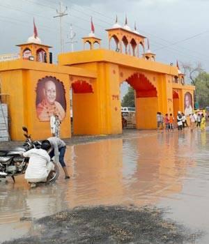 Simhastha-Kumbh mela in Ujjain.