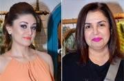 Yesteryears actress Reena Roy and director Farah Khan were among the celebrities present at designer Jyoti Mukerji and Bhumika's store launch in Mumbai.