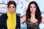 Black rules the red carpet as Sonam, Aishwarya and Dimple Kapadia take to the hue
