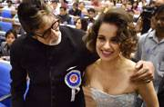 SEE PICS: Amitabh Bachchan, Kangana Ranaut at the 63rd National Awards ceremony