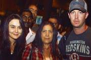 Celeb Spotting: Preity Zinta and husband Gene Goodenough at airport, Raveena Tandon shoots for a film in Delhi