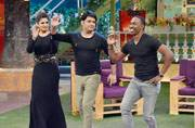West Indies' all-rounder Dwayne Bravo will grace the upcoming episode of The Kapil Sharma Show with Mast Mast girl Raveena Tandon. He is also a singer and his song Champion became quite a rage among music buffs. Raveena will promote her upcoming film Mat