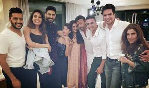 If Akshay Kumar and his Housefull 3 gang's photo with Asin went viral on social media, even newly-weds Bipasha and Karan made their first public appearance post their wedding on a TV show. Here's what B-Town stars were up to on Instagram this week.