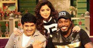 What happens when you get the most unlikely-to-get-along people-- Mika Singh, Chris Gayle & Kanika Kapoor--together on one stage? Well, if it's Kapil Sharma's stage, the answer always is 'madness'!