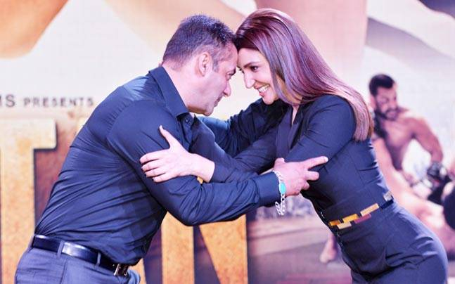 Salman Khan and Anushka Sharma play wrestlers in Ali Abbas Zafar's directorial venture Sultan. And the two actors recreated their on-screen magic at the recent trailer launch.