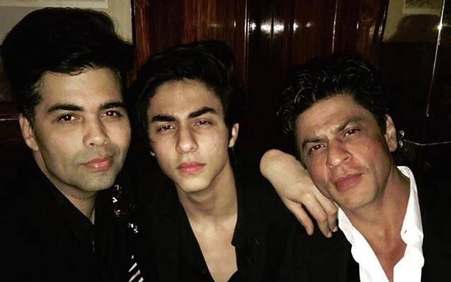 Karan Johar rang in his 44th birthday in London, but not alone. The filmmaker had the company of his close friends who are already on a vacation in London.