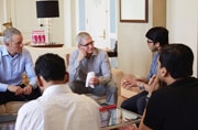 Tim Cook in India: Meetings with policy makers, partying with Bollywood stars