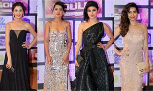 TV actors were at their sartorial best while attending this grand awards ceremony last night. While Mouni Roy won the Best Popular Actress award, Arjun Bijlani won a trophy for Best Actor for their show Naagin. Karishma Tanna took away the trophy for the