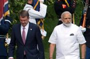 Modi in US: Visits Arlington National Cemetery