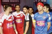 Yuvraj Singh delivers for Virat Kohli in charity football match against Bollywood stars