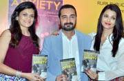Spotted: Aishwarya Rai Bachchan at the launch of close friend's parenting book