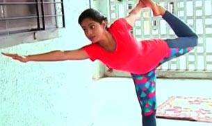 An excellent way to keep fit and stay mentally healthy, yoga is a hot favourite among TV celebs as well. They all however do it with a slight variance. For example, Diya Aur Baati Hum star Deepika Singh combines Yoga with Odissi dance. On the occasion of