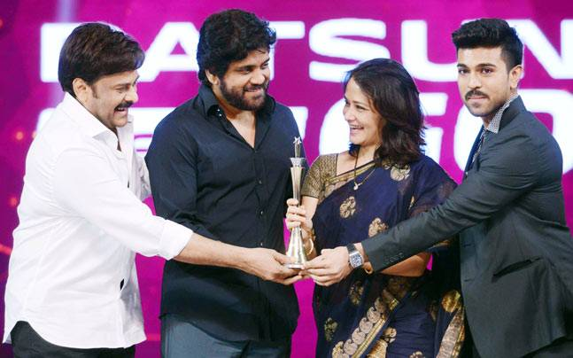 CineMAA Awards, one of the prestigious award ceremony of Tollywood, was held in Hyderabad on June 12. And SS Rajamouli's magnum opus Baahubali won the maximum awards in this ceremony too. The film has won 13 awards under various category.