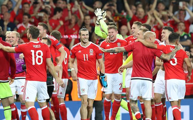 Euro 2016 photos,England photos,Wales photos,Gareth Bale photos,Jamie Vardy photos,Roy Hodgson photos,Neil Taylor photos,Aaron Ramsey photos,Football photos
