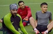 Celeb Spotting: Ranbir, Sunil Chhetri play charity football match
