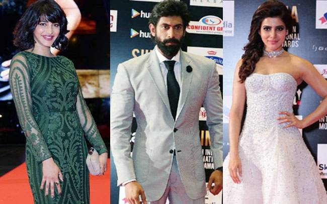 The sixth edition of South Indian International Movie Awards is being held in Singapore from June 30 to July 1. Many big names of southern film industries like Chiranjeevi, Rana Daggubati were in attendance to the grand event.