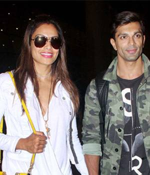 Deepika returned after winning Best actress in IIFA, while Karan Singh and Bipasha were clicked outside the airport after their extended vacation