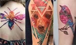 Colour tattoos