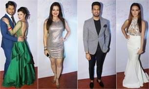 Sambhavna Seth's Mumbai reception saw celebrities like Ravi Kishan, Upen Patel, Dolly Bindra, Monica Bedi, Diandra Soares, Johnny Lever among others.