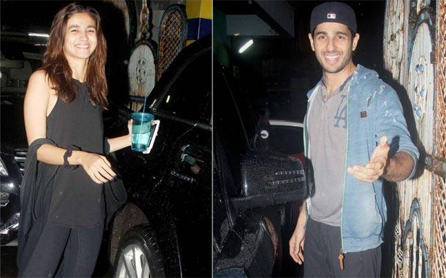 Rumoured-lovers Alia Bhatt and Sidharth Malhotra were spotted getting into the same SUV in MHADA for the second consecutive day.