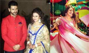 Divyanka Tripathi will wed Vivek Dahiya tonight. Here's a look at all the amazing pictures from the actress' pre-wedding ceremonies.