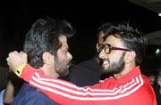 Actor Ranveer Singh, who is a big fan of Anil Kapoor and considers him a legend and an icon, was present at the screening of 24 Season 2.