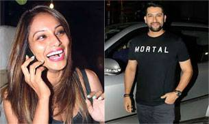 While Bipasha was spotted sporting a new hairdo outside Aalim Hakim's salon in Bandra, Aftab along with other cast members attended a special screening for his latest film Great Grand Masti.