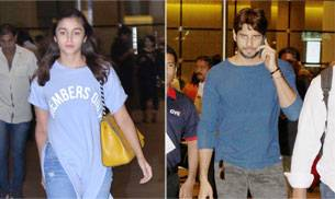 From Sidharth Malhotra, Alia Bhatt leaving the airport to Varun Dhawan, Shraddha Kapoor attending promotional events at Mehboob studios, here's the daily dose of the celebrities we spotted.