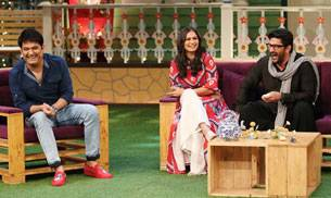 Things got really funny when Arshad Warsi and his wife, Maria Goretti visited the sets of The Kapil Sharma Show.