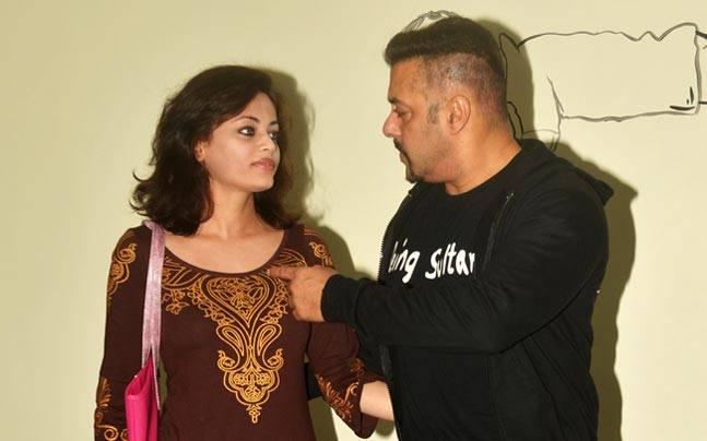 Salman Khan, Sneha Ullal