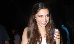 Deepika Padukone looked cheerful as she hung out in suburban Bandra, even greeting fans with handshakes.