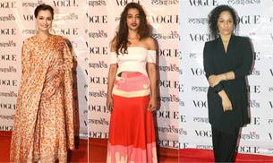 Pretty ladies of B-Town made designer Masaba Gupta's new festive line launch all the more special. The designer's muses for this collection include her mother, Neena Gupta.