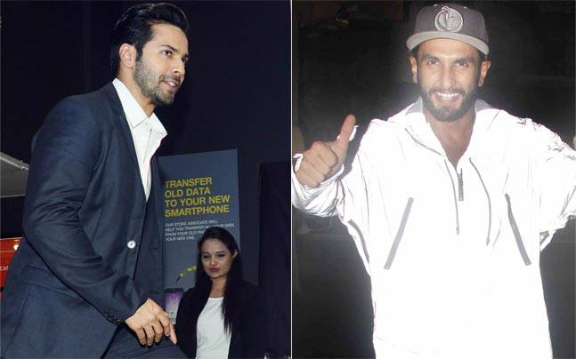 Ranveer Singh was snapped coming out of Sanjay Leela Bhansali's office possibly after a Padmavati narration, Varun Dhawan looked dapper while launching the August issue of Filmfare.