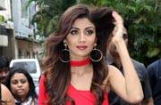 Shilpa Shetty during the Super Dancer promotions
