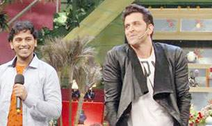 Hrithik Roshan had a great time interacting with fans on the sets of The Kapil Sharma Show.