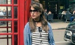 Hina Khan in London