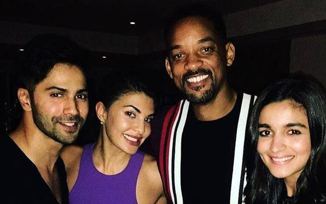 Hollywood superstar Will Smith was the special guest at Akshay Kumar's grand celebration on Sunday night to celebrate the success of his Rustom.