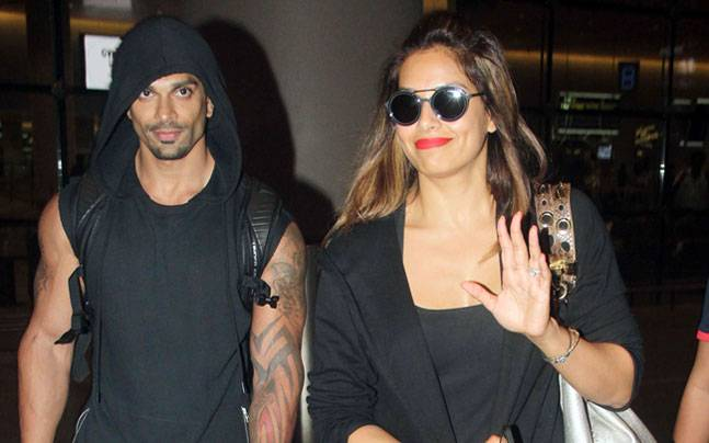 While newlyweds Bipasha Basu and Karan Singh Grover were spotted at the Mumbai international airport returning from holidaying around the world, Tiger Shroff was busy promoting A Flying Jatt.