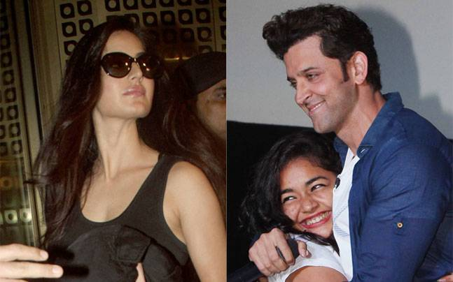 Katrina Kaif was the woman in black at the airport, as she left as a part of Karan Johar's dream team, while Hrithik embraced a fan while promoting his upcoming film Mohenjo Daro at a suburban mall.