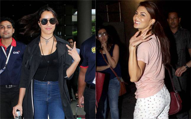 While Tiger Shroff and Jacqueline Fernandez were spotted at a screening of their recently released film A Flying Jatt, Arjun Kapoor and Shraddha Kapoor returned from Cape Town after a schedule of Half Girlfriend.