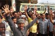 18 crore workers call Bharat bandh: In Pics