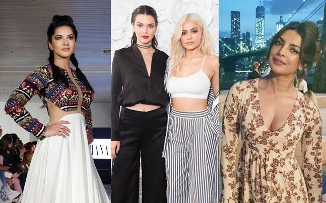 Priyanka Chopra, Sunny Leone, Kylie Jenner, Kendall Jenner