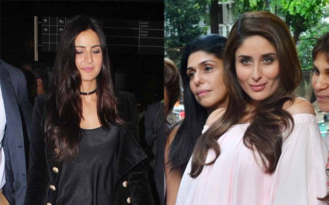 Katrina Kaif came out of the Mumbai airport in an all-black avatar, Kareena Kapoor Khan flaunted her baby bump during a shoot at Mehboob studios.