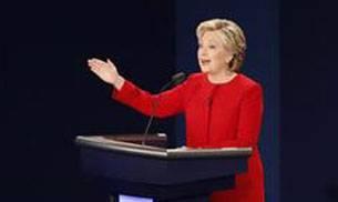 US Presidential poll debate