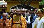 In Pics: PM Modi visits historic Pagoda temple on his Vietnam trip