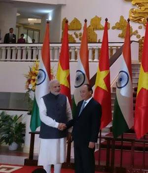 PM Modi in Vietnam