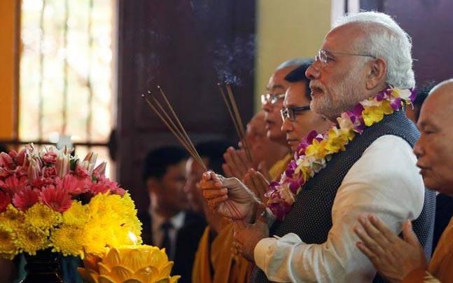 PM Narendra Modi in Vietnam