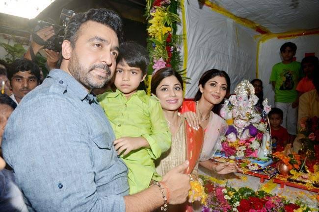 Bollywood stars like Shilpa Shetty, Anil Kapoor, Sanjay Leela Bhansali and Govinda bid farewell to Ganpati Bappa with zest and fervour.